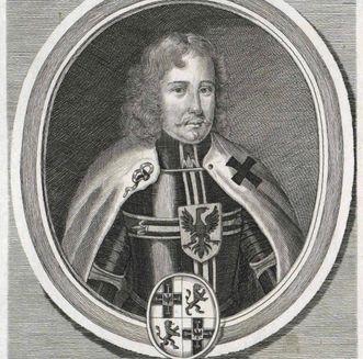 Residenzschloss Mergentheim, Portrait Heinrich von Hohenlohe