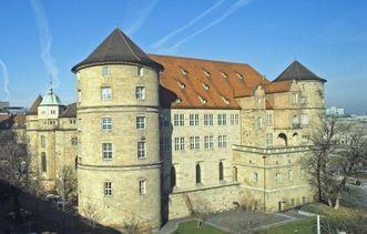 Altes Schloss Stuttgart und Stiftskirche
