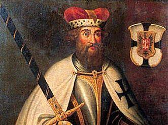 Hochmeister Hermann von Salza, Gemälde, 17. / 18. Jahrhundert