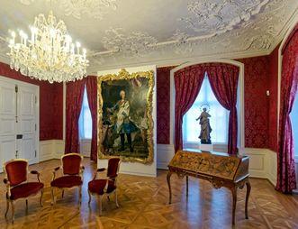 Residenzschloss Mergentheim, Schlafzimmer der Neuen Fürstenwohnung