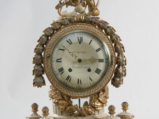 Residenzschloss Mergentheim, Pendule-Uhr, Johann Erasmus Baumgartinger