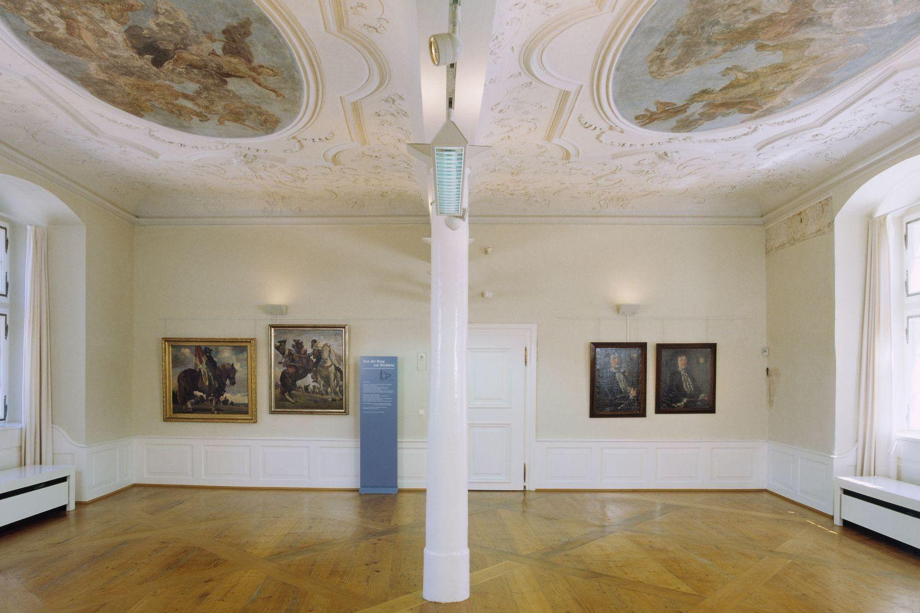 Residenzschloss Mergentheim, Götterzimmer