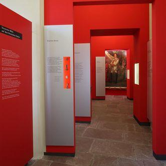 Residenzschloss Mergentheim, Ausstellung Deutscher Orden; Foto: Deutschordensmuseum, Foto Besserer, Lauda-Königshofen