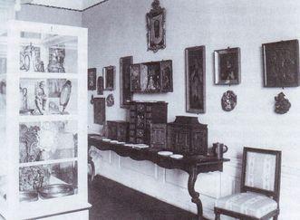 Residenzschloss Mergentheim, Raum der Adelsheim-Sammlung, 1936