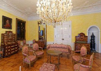 Residenzschloss Mergentheim, Vorzimmer der Neuen Fürstenwohnung