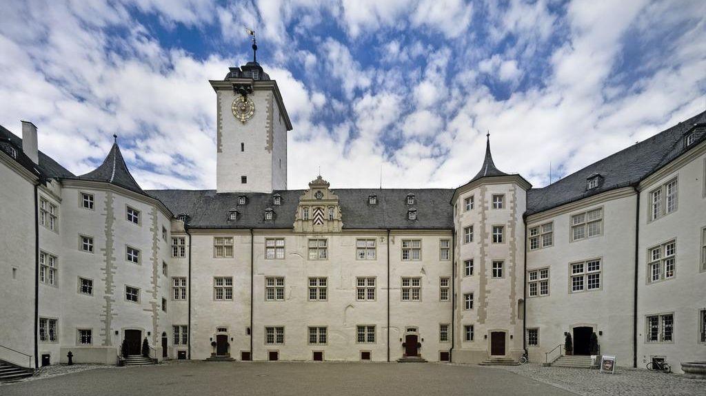 Residenzschloss Mergentheim, innerer Schlosshof