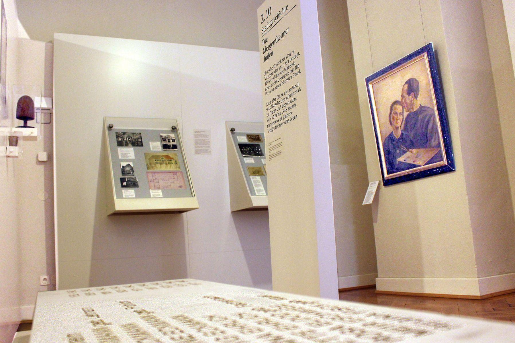 Residenzschloss Mergentheim, Ausstellung Jüdisches Leben