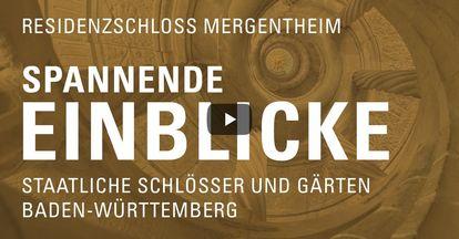 """Startbildschirm des Filmes """"Spannende Einblicke mit Michael Hörrmann: Residenzschloss Mergentheim"""""""