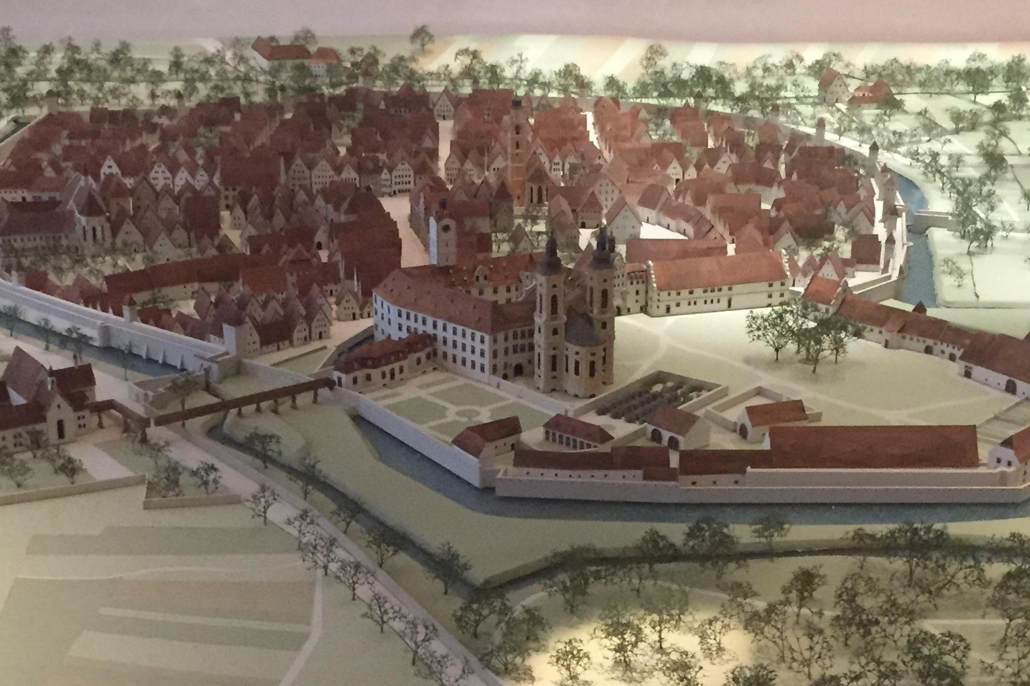 Residenzschloss Mergentheim, Modell der Stadt Mergentheim