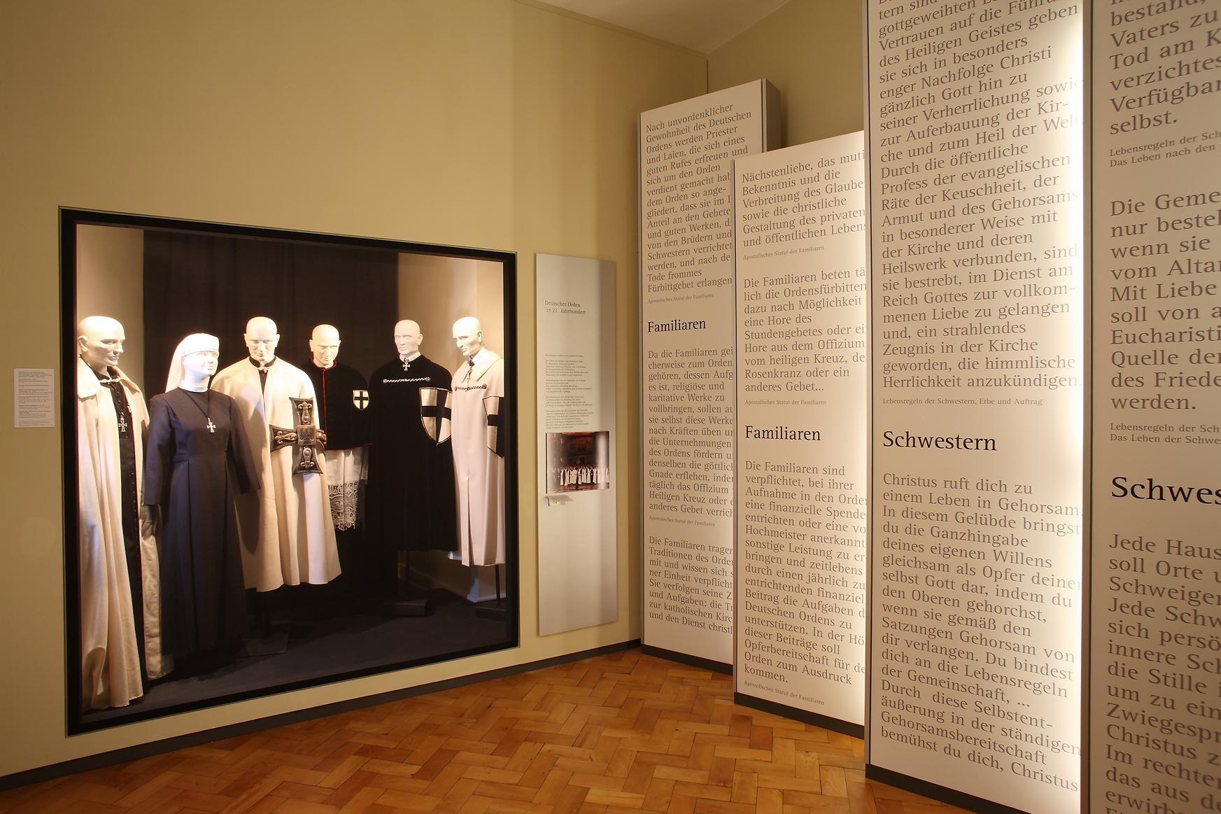 Residenzschloss Mergentheim, Ausstellung Deutscher Orden