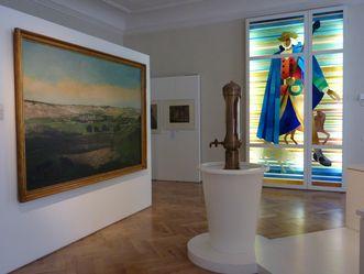 Blick in den Ausstellungsbereich zur Geschichte der Kurstadt.