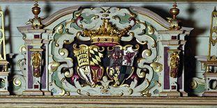 Portal im Goldenen Saal von Schloss Urach