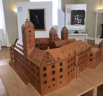 Residenzschloss Mergentheim, Modell des Schlosses um 1650