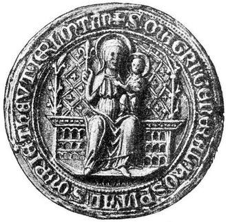 Residenzschloss Mergentheim, Siegel des Hochmeisters des Deutschen Ordens