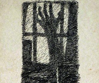 """Residenzschloss Mergentheim, Ausschnitt aus der Titelseite """"Im Haus der Freudlosen"""" von Felix Fechenbach"""