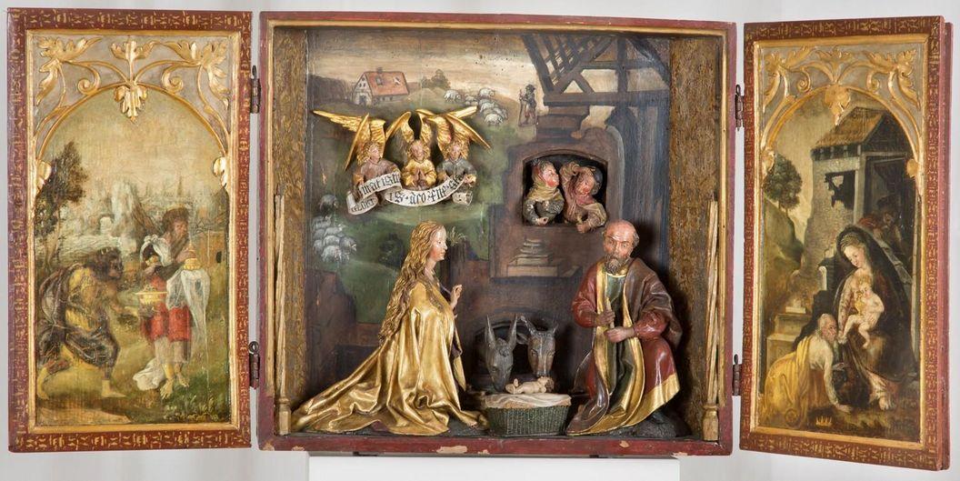 Residenzschloss Mergentheim, Hausaltärchen, um 1500
