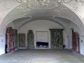 Residenzschloss Mergentheim, Gruft in der Schlosskirche
