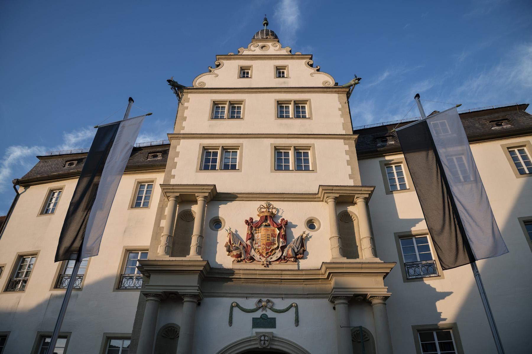 Residenzschloss Mergentheim, Schloss von außen