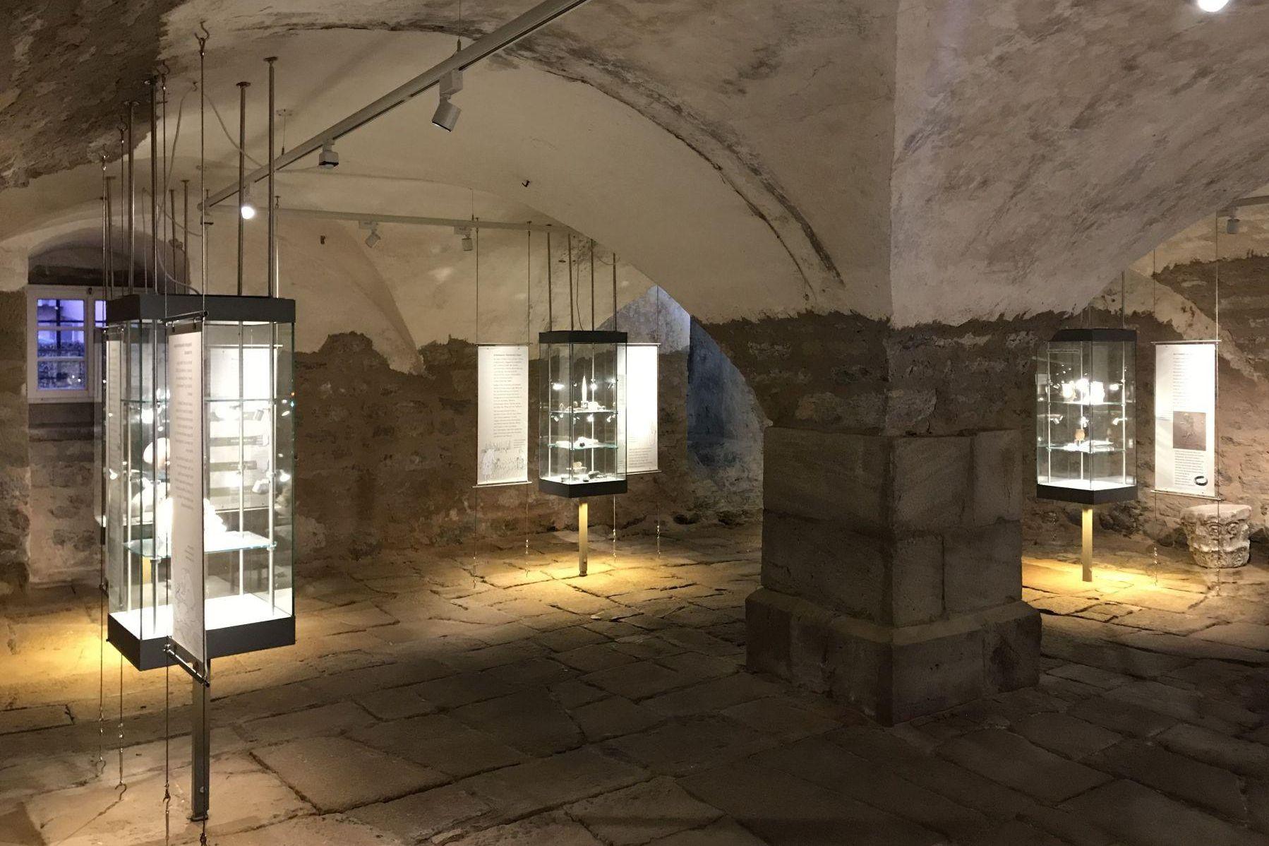 Residenzschloss Mergentheim, Ausstellung Jungsteinzeit im Tau-bertal